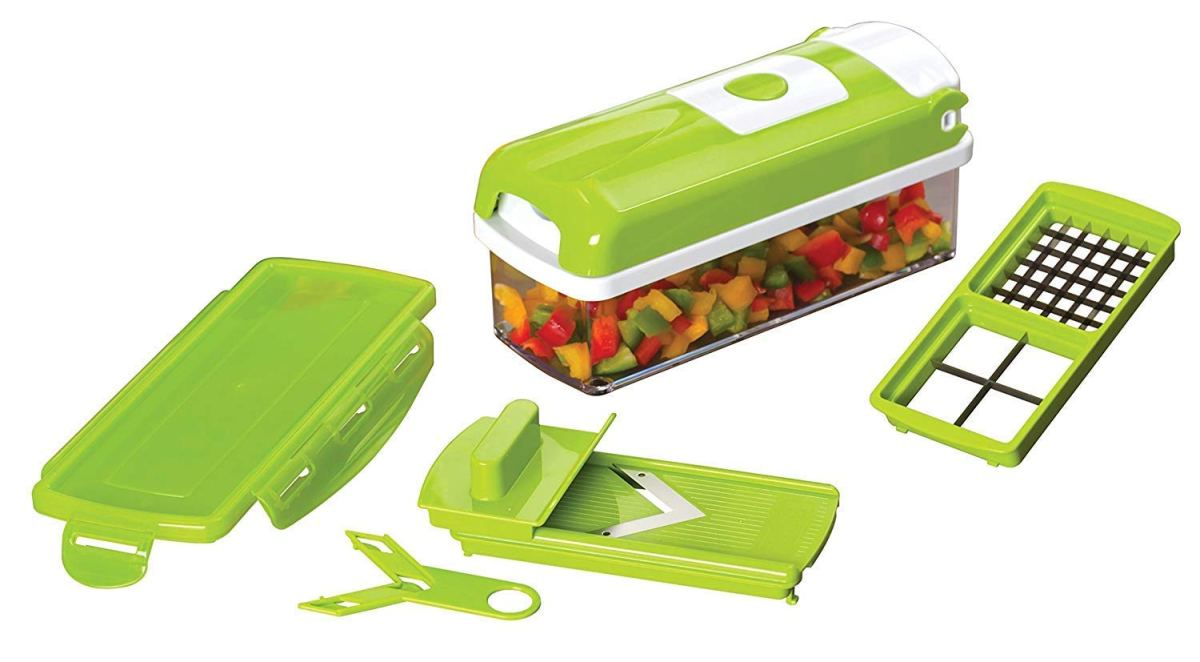 Amazon : 9 IN 1 Vegetable Slicer with Stainless Blades and 1.5L storage container Just $7.99 W/Code (Reg : $33.99) (As of 12/11/2018 10.33 AM CST)