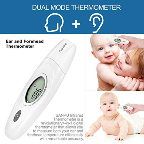 Ear and Forehead Thermometer A1