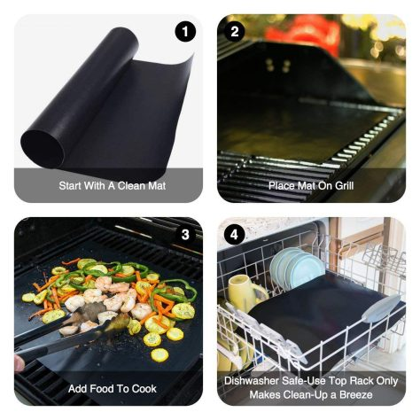 Grill Mat Set of 5 3