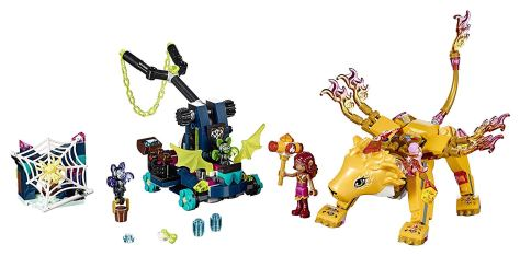 LEGO Elves Azari & The Fire Lion Capture 41192 Building Kit 1.jpg
