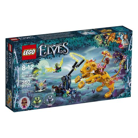 LEGO Elves Azari & The Fire Lion Capture 41192 Building Kit.jpg