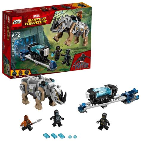 LEGO Marvel Super Heroes Rhino Face-Off by the Mine 76099 Building Kit