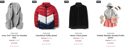 Puffer jacket Crazy8