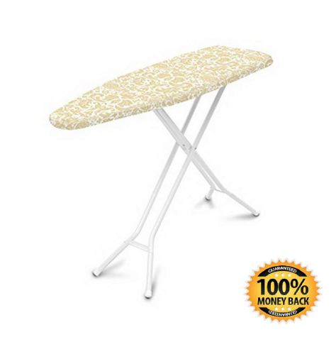 Replacement Cover and Pad for Ironing Boards,Yellow Damask 1