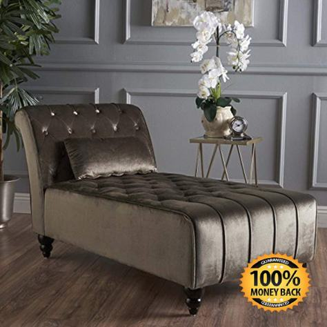 Rubie Chaise Sofa, Grey 1