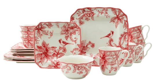 Home Depot : Dinnerware Sets On Sale From $17.49 (75% Off)!