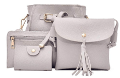 4pcs Women Fashion Composite Bag Handbag 3