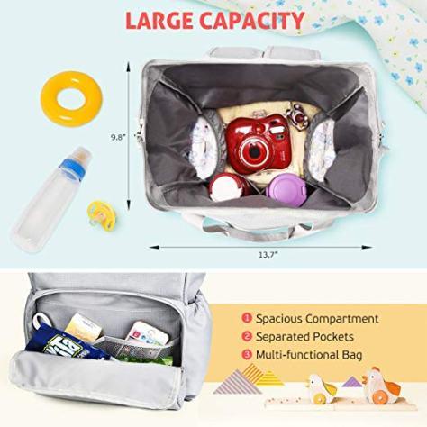 Multi-Functional Diaper Bag 1