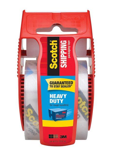 Scotch Heavy Duty Shipping Packaging Tape 1