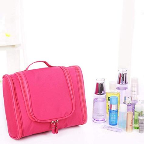 Toiletry Bag with Hanging Hook Organizer 1