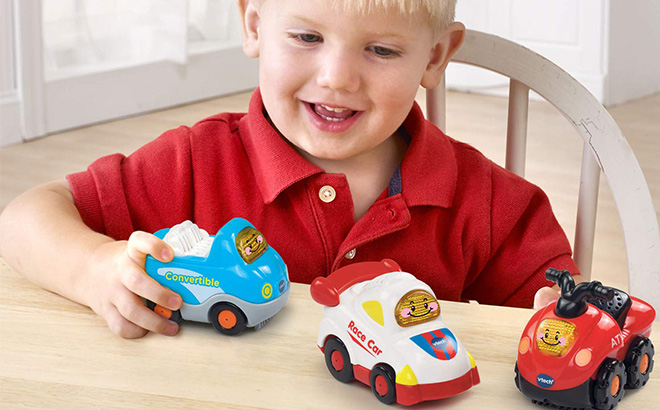 VTech Go! Go! Smart Wheels Sports Cars 3-Pack ONLY $8 (Reg $30) + FREE Shipping