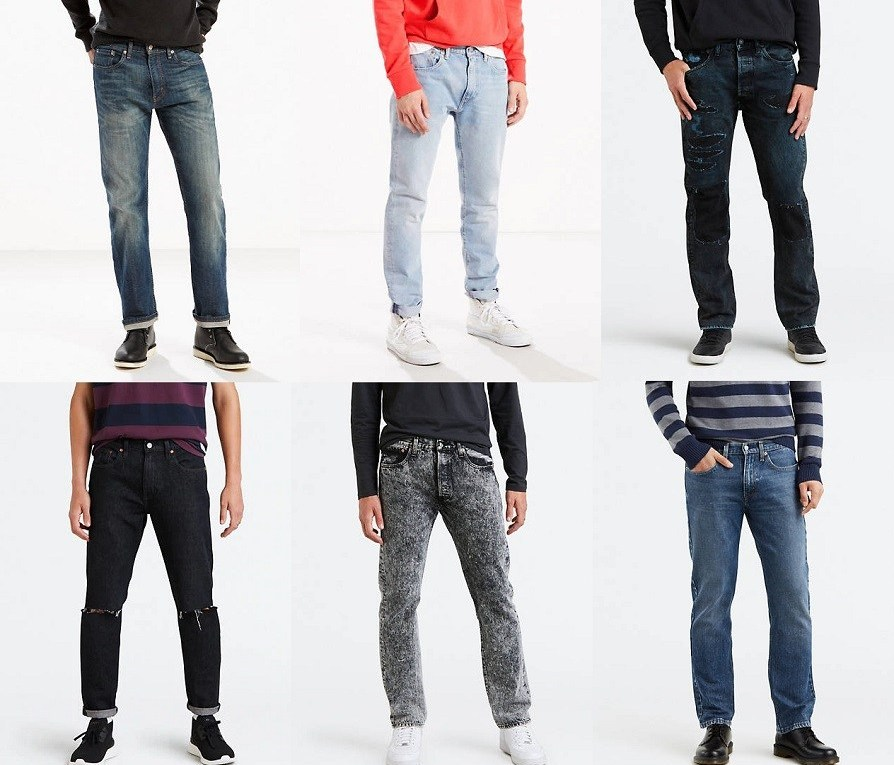 SALE! AS LOW AS $13.99 (Reg $54.99+) Levi's Men's Jeans