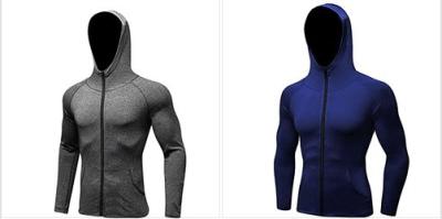 Amazon : Men's Jersey Full Zip Up Hoodie Lightweight Fitted Hooded Sport Sweatshirt Just $7 W/Code (Reg : $19.99) (As of 2/22/2019 9.58 AM CST)
