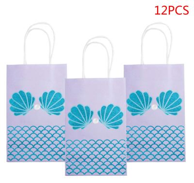 Amazon : Set Of 12 Mermaid Party Favor Bags Just $2.19 W/Code + $40% Off Coupon (Reg : $10.99) (As of 2/22/2019 10.39 AM CST)
