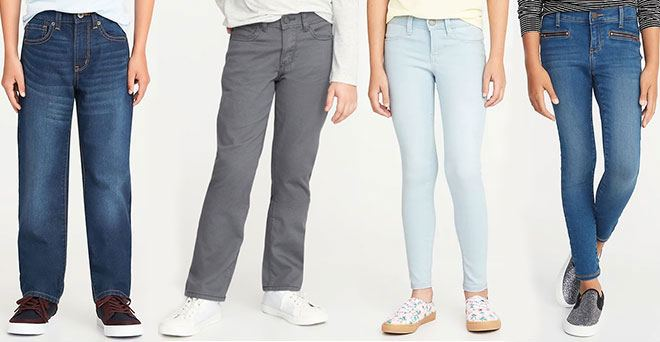 Old Navy Jeans for the Family Starting at ONLY $8 (Regularly $20)