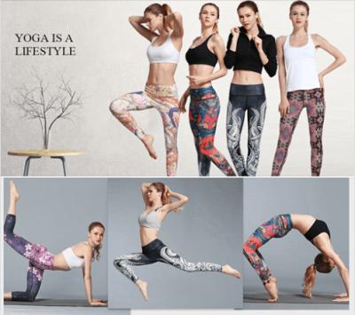 Amazon : Women Yoga Pants Printed High Waist Power Flex Capris Just $7.50-$9.99 W/Code (Reg : $19.99) (As of 2/19/2019 2.04 PM CST)