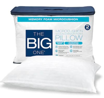 Kohl's : 2-pack Memory Foam Pillow Just $15.97 (Reg : $69.99)
