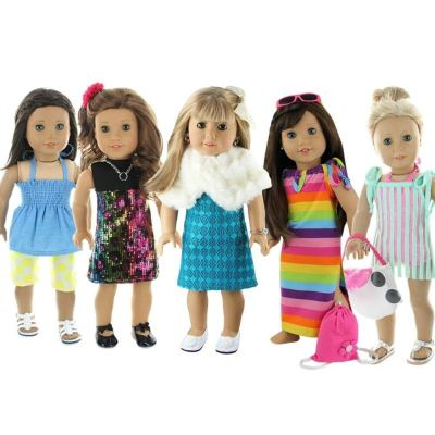 Amazon : 28 Piece Holiday Lot Fits 18-Inch American Girl Doll Clothes Just $19.95 W/Lightening Deal +$10 Off Coupon (Reg : $39.95) (As of 3/18/2019 2.27 PM CDT)