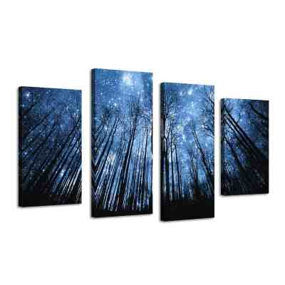 Amazon : 4 Panels Large Stretched Canvas Prints Just $24.45 W/Code 50% off applies at checkout (Reg : $48.90) (As of 3/19/2019 9.49 PM CDT)