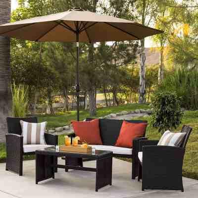 Amazon : 4-Piece Wicker Patio Furniture Set Just $211.99 (As of 3/24/2019 11.19 AM CDT)