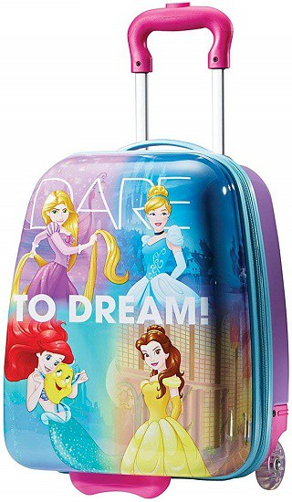 "Amazon : American Tourister Disney 18"" Hardside Upright Luggage Princess Just $28.80 (Reg : $59.99) (As of 3/20/2019 7.41 PM CDT)"