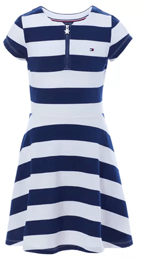Macy's : Big Girls Rugby Stripe Dress Just $22.31 W/Code (Reg : $42.50)