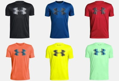 Under Armour : SALE! $14.99 (Reg $20) Big Logo Solid Boys' Short Sleeve Shirt!