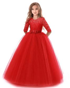 Amazon : Girls Tulle Lace Princess Dress Just $17.88-$19.88 W/Code (Reg : $49.70) (As of 3/17/2019 8.37 PM CDT)