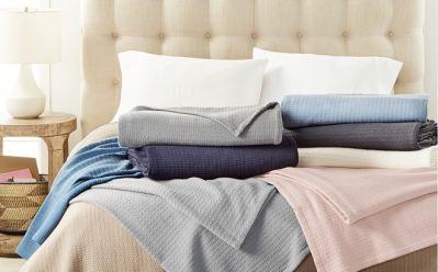 Lauren Ralph Lauren Classic 100% Cotton Blankets Starting at JUST $17.99 (Reg $90)