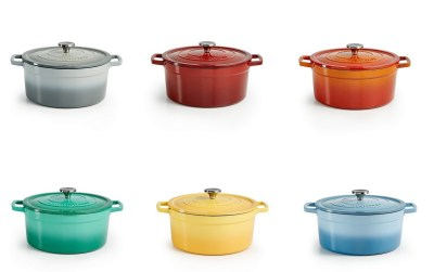 Macy's : SALE! $71.99 (Reg $179.99) Martha Stewart Enameled Cast Iron Ombré Round 6-Qt. Dutch Oven