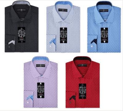 Macy's : Men's Slim-Fit Non-Iron Performance X-Check Dress Shirt Just $17.49 (Reg : $50)
