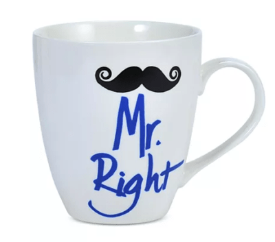 Macy's : Mr. Right Mustache Mug Just $1.99 (Reg : $7)