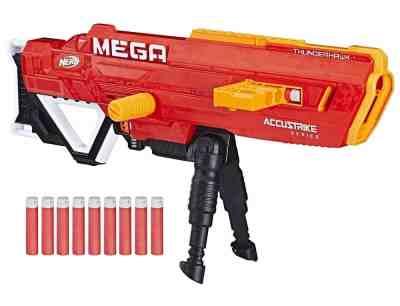 Walmart : Nerf N-strike Mega Accustrike Thunderhawk with 10 Nerf Mega Darts Just $24.88 (Reg $46.88)