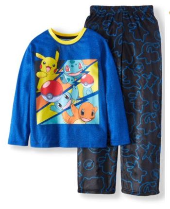Walmart : Pokemon Fleece 2 Piece Pajama Sleep Set (Little Boy & Big Boy) Just $2.50 (Reg : $12.88)