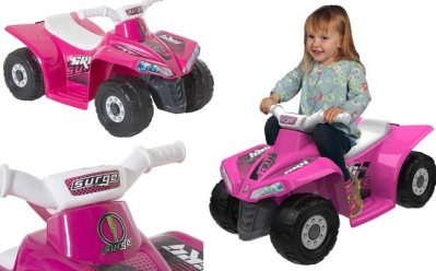 Surge Quad Girls Battery-Powered Ride On ONLY $49 + FREE Shipping at Walmart