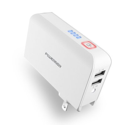 Amazon : Wall Charger Power Bank Just $7.99 W/Code (Reg : $21.99) (As of 3/18/2019 9.49 PM CDT)