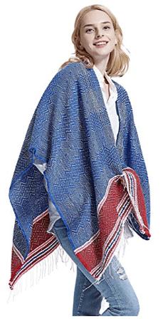 Amazon : Women Wrap Shawl Bohemian Open Front Cardigan Just $9.19 W/Code +10% Off Coupon (Reg : $22.99) (As of 3/24/2019 5.01 PM CDT)