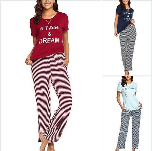 Amazon : Women's Pajama Set  Just $8.90 W/Code + 17% Off Coupon (Reg : $27.99) (As of 3/17/2019 10.11 PM CDT)