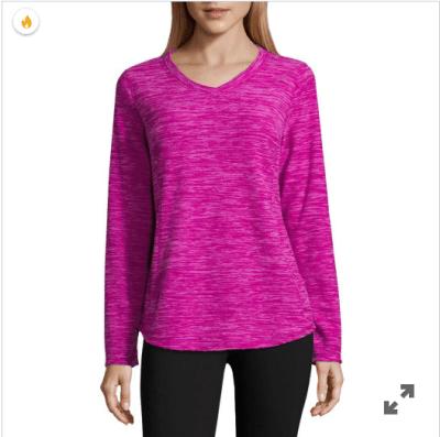 Jcpenney : Women's V Neck Long Sleeve Sweatshirt Just $1.59 W/Code (Reg : $9)