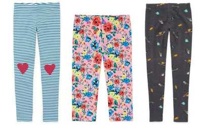JCPenney : Extra 30% Off Girls Arizona Leggings + FREE Pickup Starting at From Just $3!