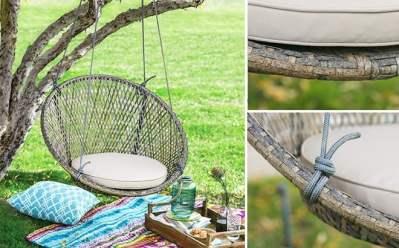 Belham Hanging Swing Chair ONLY $106.99 (Reg $126.89) + FREE Shipping at Walmart