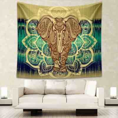 Amazon : Elephant Tapestry Just $5.99 (As of 3/24/2019 8.37 PM CDT)