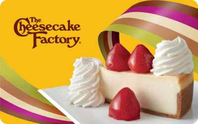 FREE $25 The Cheesecake Factory Reward (First 10,000 - April 1st)