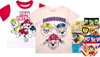 ed1f4fc6d Jcpenney : Paw Patrol Toddlers Clothing Sale, Starting at Just $4.49 (Reg :  $14