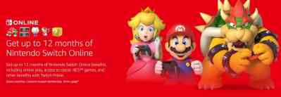 FREE 12-Month Nintendo Switch Online Membership for Amazon Prime Members
