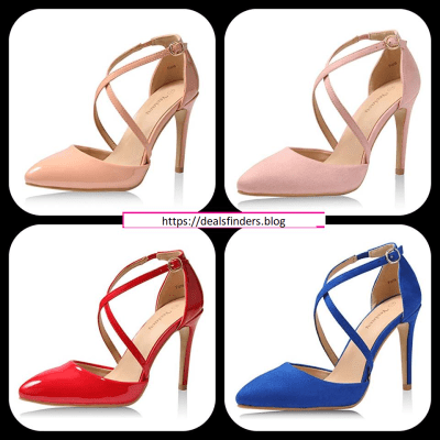 Amazon : Women Pumps Dress Pointed Toe Shoes Just $15.99 - $16.99 W/Code (Reg : $33.99) (As of 3/18/2019 10.18 PM CDT)