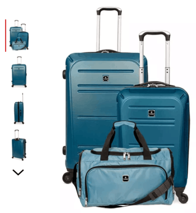 Macy's : 3-Piece Hardside Luggage Set Just $84.99 (Reg : $340)