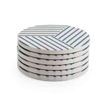 Amazon : Set Of 6 Absorbent Drink Coasters Just $6.74 W/Code + 5% Off Coupon (Reg : $14.99) (As of 4/13/2019 1.50 PM CDT)