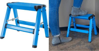 Homedepot : Aluminum Single Step Folding Stool $14.99 Free Store Pickup!!