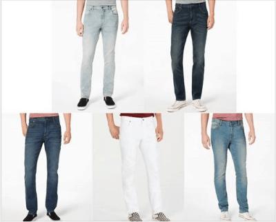 Macy's : American Rag Men's Slim-Fit Stretch Jeans Just $14.99 W/Code (Reg : $45)